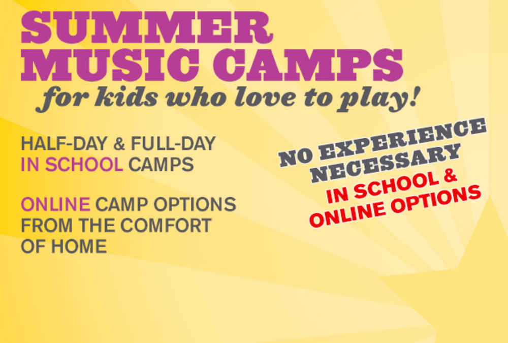 Music Summer Camps - Online & In School